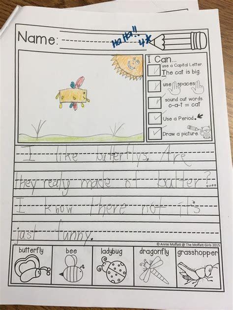 frunday kindergarten writing  grade