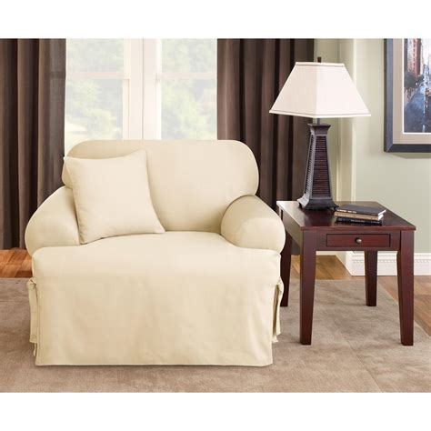 Sure Fit Logan T Cushion Sofa Slipcover by Sure Fit 174 Logan T Cushion Chair Slipcover 292831