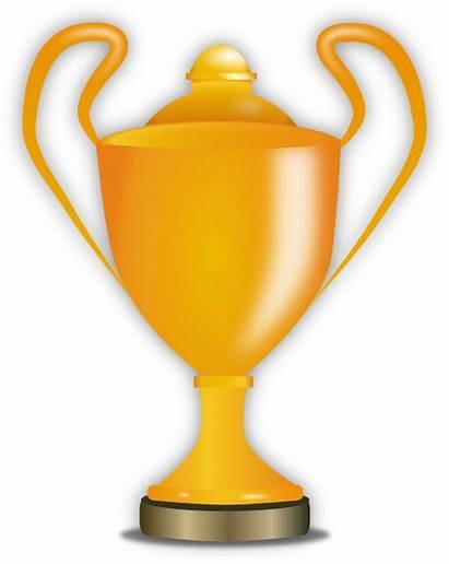 Trophy Golden Clip Clipart Clker