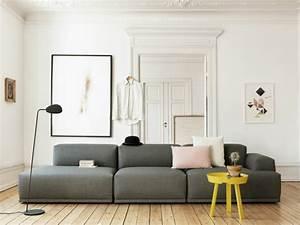 Grau Weiße Couch : 1001 sofa grau beispiele warum sie ein sofa genau ~ Michelbontemps.com Haus und Dekorationen
