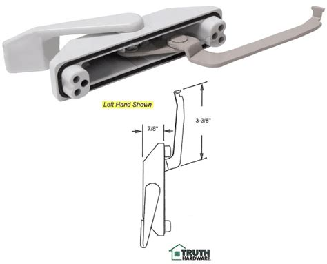 truth hardware casement window multi point sash lock