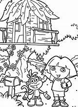 Coloring Tree Pages Treehouse Colouring Magic Boomhutten Kleurplaat Dora Explorer Fairy Fun Kleurplaten Village Scene Pdf Popular Zo Template sketch template