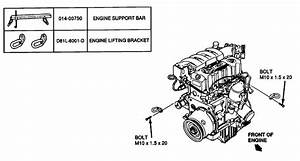 Service Manual  Removing Transaxle From A 1990 Ford Tempo