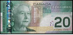 20 Canadian Dollars 2004, 2001-2008 Issue - Canada ...