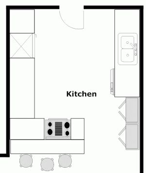 peninsula kitchen floor plan kitchen plans with peninsulas kitchen floor plans and 4143