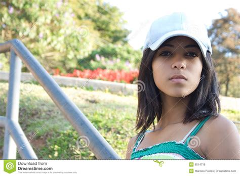 African American Serious Teen Royalty Free Stock Images Image