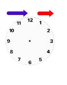 Printable Preschool Clock