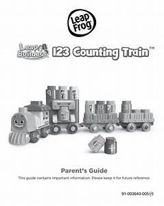 Leapfrog Leapbuilders 123 Counting Train Parent Guide