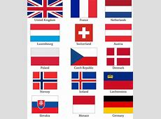 Which European flag do you think looks the least appealing
