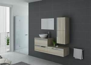 Meuble Simple Vasque : ensemble de salle de bain 1 vasque scandinave mat meuble simple vasque bois ref bolzano sc ~ Teatrodelosmanantiales.com Idées de Décoration