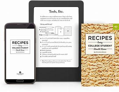 Student Know College Should Every Recipes Books