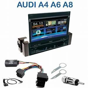 Autoradio 1 Din Ecran : autoradio clarion 1 din gps cran motoris audi a4 a6 a8 autoradios ~ Medecine-chirurgie-esthetiques.com Avis de Voitures