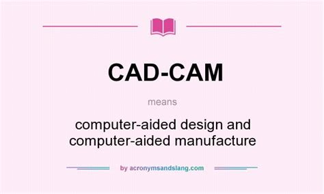 Define Stand By by What Does Cad Cam Mean Definition Of Cad Cam Cad Cam