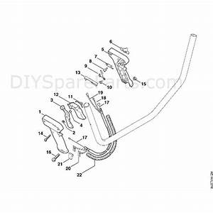 Stihl Fs 85 Brushcutter  Fs85  Parts Diagram  S