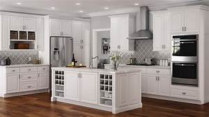 Hampton, Wall, Cabinets, In, White, U2013, Kitchen, U2013, The, Home, Depot