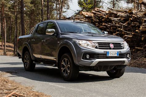 UK prices and specs announced for new 2016 Fiat Fullback
