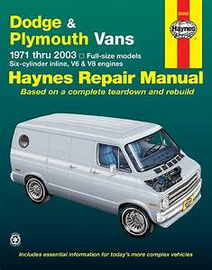 Dodge Tradesman  Sportsman  U0026 Plymouth Voyager Full