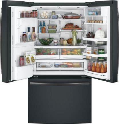 ge profile series pfe energy star  cu ft french door refrigerator  keurig  cup