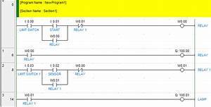 How To Repeat The Whole Process In Plc Omron Ladder