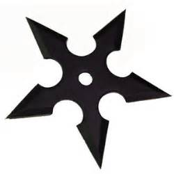 claw clip 5 point samuria carbon steel shuriken throwing