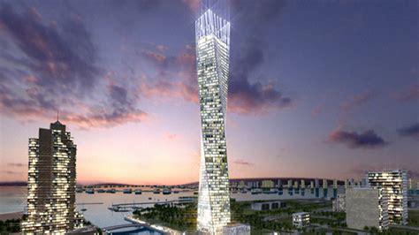 """Torre Cayan Il """"dna"""" Di Dubai"""