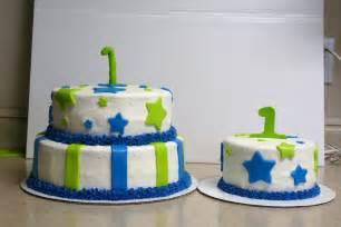 Baby Boy First Birthday Smash Cake