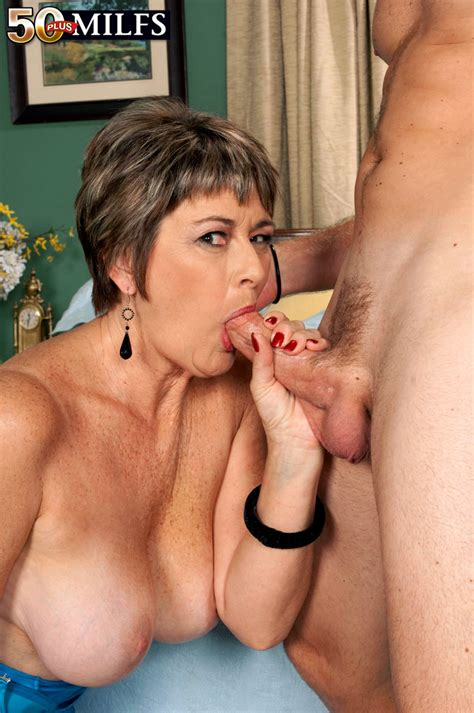 50 Plus Milfs First Fuck 57 Year Old Breaks Her Porno
