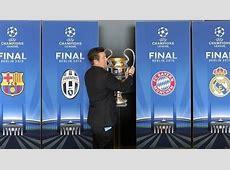 UEFA Champions League 2015 SemiFinal Draw announced