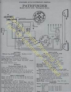 1919 1920 Hudson Model O Car Wiring Diagram Electric