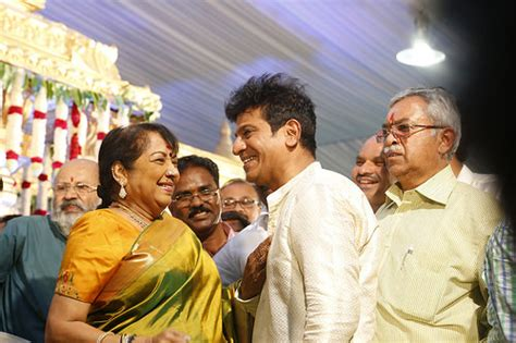 actress jayanthi daughter shivaraj kumar daughter s marriage see who all attended