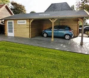 Holzbalken Für Carport : carport mit abstellraum c3 ma arbeit m glich lugarde ~ Articles-book.com Haus und Dekorationen