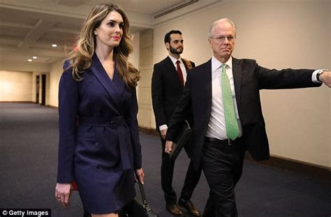 Hope Hicks White Admits Lies