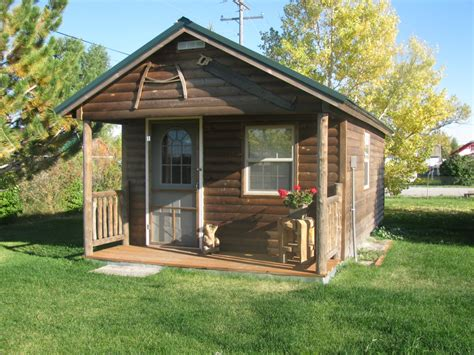 The Glacier Cabin Montana Shed Cabins Cottages Outfitters And Trading Posts Montana
