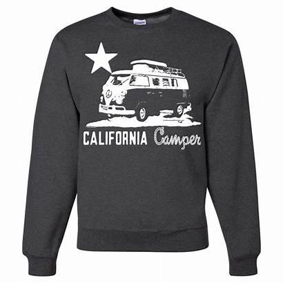 Camper Vw Crewneck California Sweatshirt Sweatshirts Republic