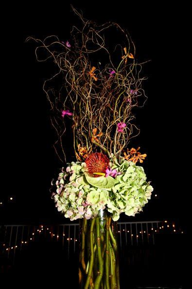 willow arrangement beach wedding inspiration southern productions mississippi wedding planner and florist