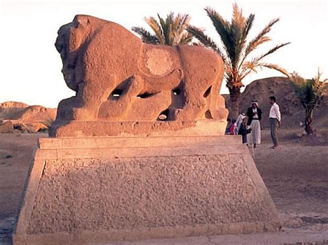 All Mesopotamia — Lion Of Babylon Picture Date 1970