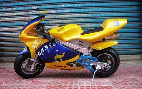49cc Aluminum Mini Motorcycle Small Sports Car Street Bike