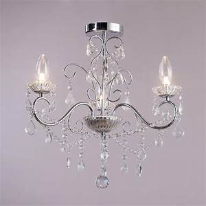 3 lt bathroom decorative curved arm crystal effect With chandeliers for bathrooms uk