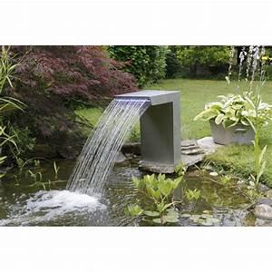 Lame D Eau Bassin : lame d 39 eau straight ubbink cascade design pour les tangs ~ Premium-room.com Idées de Décoration