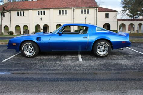 1978 Blue Trans Am by 1978 Trans Am Martinique Blue 400 Auto Same Owner Since