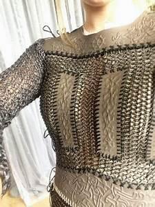 an early sneek peek at Lagertha's season 2 armor ...