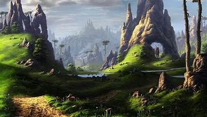 Fantasy Landscape Wallpapers Desktop Backgrounds Mobile