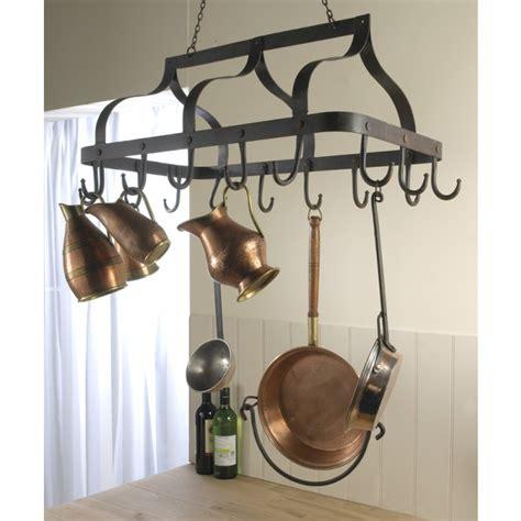 kitchen pot and pan racks black country metal works