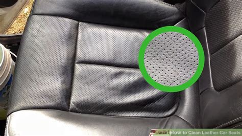 how to clean leather how to clean leather car seats 11 steps with pictures