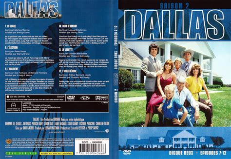 jaquette dvd de dallas saison 2 dvd 2 cin 233 ma