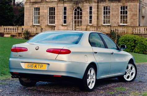 Alfa Romeo 166 Saloon Review (1999  2005) Parkers