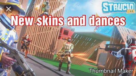 skins  dances  strucid youtube