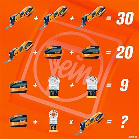 fein tools math riddle