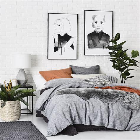 Home Republic  Vintage Washed Indigo  Bedroom Quilt