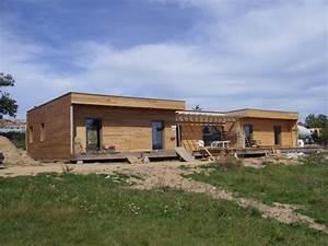 maison en paille matthieu dupont de dinechin architecte With maison bois et paille